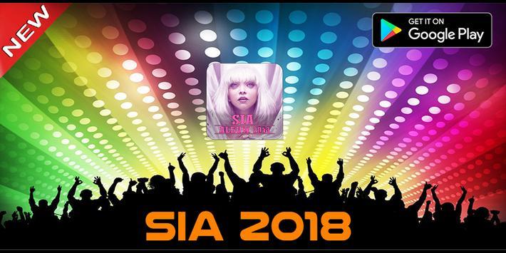 Sia 2018 Album poster