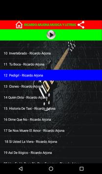 Ricardo Arjona apk screenshot