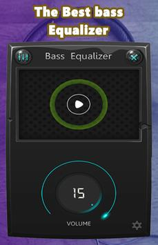 Music simple bass equalizer screenshot 1