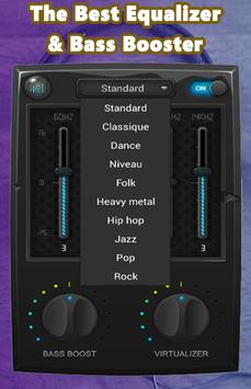 Music simple bass equalizer screenshot 3