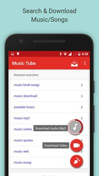 Music Tube:Mp3 Songs Download poster