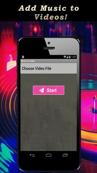 Music to Video.Add mp3 to Video. Background Music poster