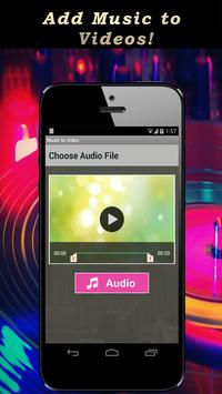 Music to Video.Add mp3 to Video. Background Music screenshot 2