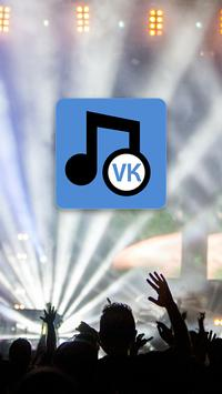 Music and songs : VK VKontakte poster