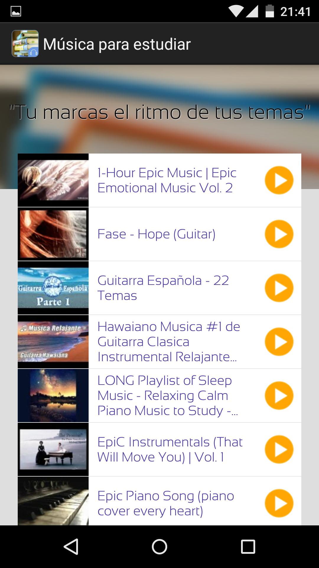 Study Music for Android - APK Download
