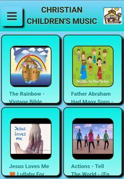 Christian children's music poster