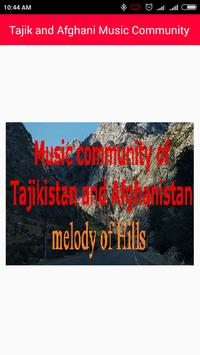 Community video songs of Afghanistan & Tajikistan poster