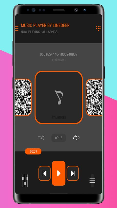 M4A / MP3 music player and volume booster for Android - APK
