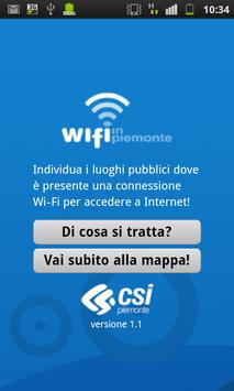 Wi-fi in Piemonte poster