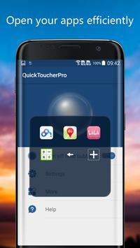 QuickToucher screenshot 1