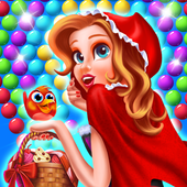 Red Riding Hood Story Bubble icon