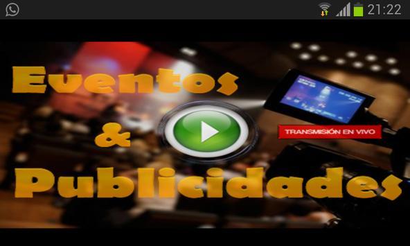 eventos y publicidades apk screenshot