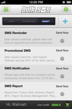 MV Bulk SMS-International SMS apk screenshot