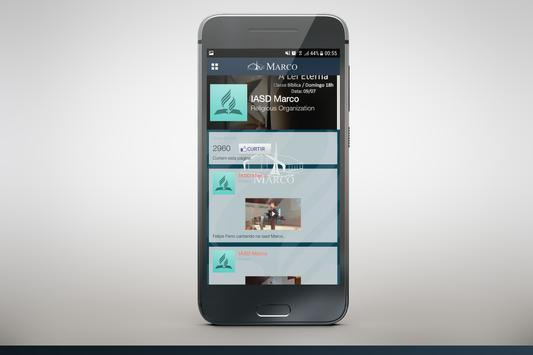 Igreja do Marco apk screenshot