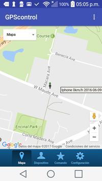 GPScontrolMX apk screenshot