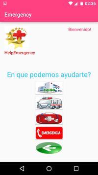 HelpEmergency apk screenshot