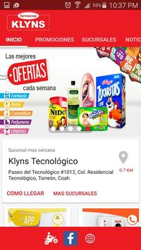 Farmacias Klyns poster