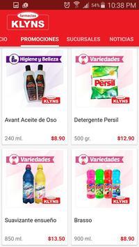 Farmacias Klyns screenshot 1
