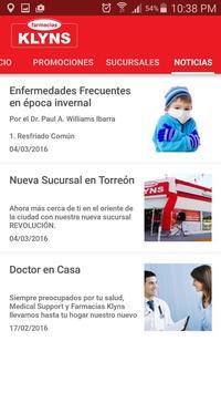 Farmacias Klyns screenshot 2