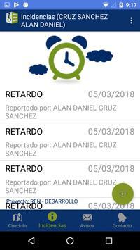 SIIC Incidencias screenshot 1