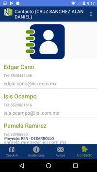 SIIC Incidencias screenshot 2