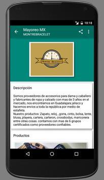 Mayoreo MX screenshot 2