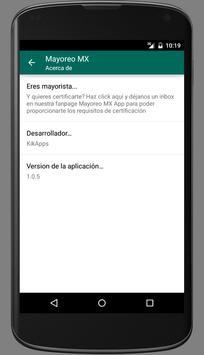 Mayoreo MX screenshot 5