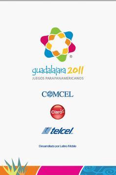Para Pan 2011 poster