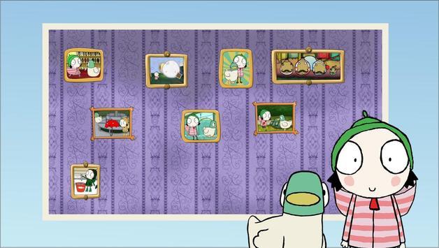 Puzzle Sara & Duck poster