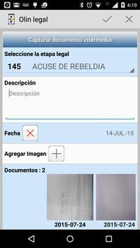 Olin Legal apk screenshot