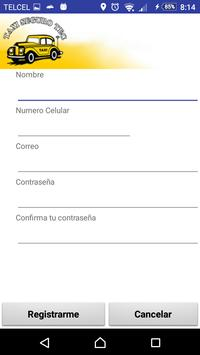 Taxi Seguro Tec (Usuario) screenshot 1