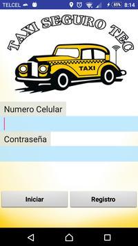 Taxi Seguro Tec (Usuario) screenshot 2