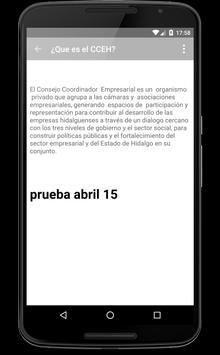 CCEH screenshot 3