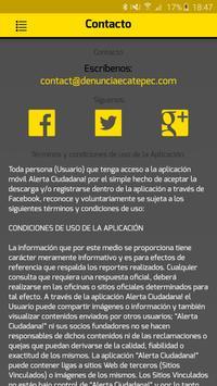 Alerta Ciudadana screenshot 2