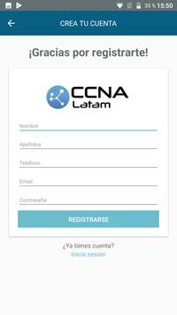 CCNA Latam apk screenshot