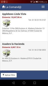 La Comand@ screenshot 2