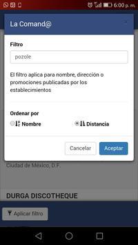 La Comand@ screenshot 7