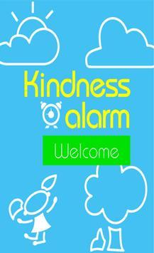 Kindness Alarm poster