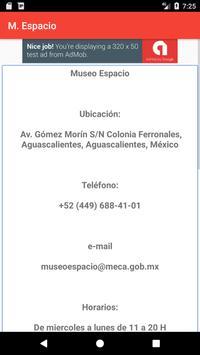 Museo Espacio screenshot 5
