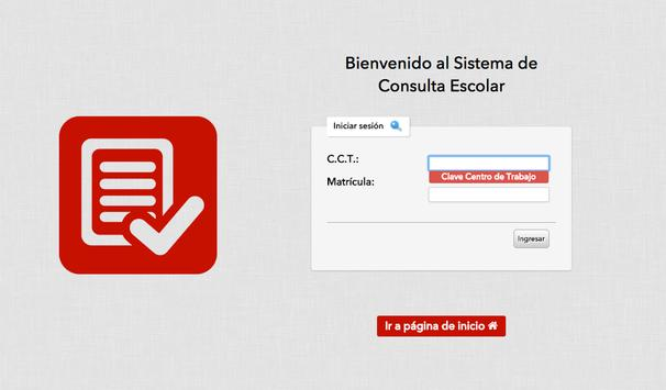 Consulta Escolar apk screenshot