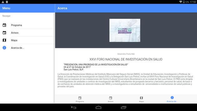 Foro Nacional de Investigación en Salud screenshot 7