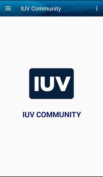IUV Community poster