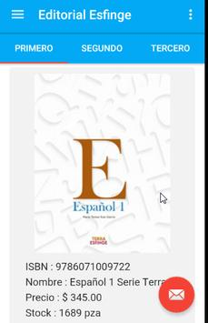 Editorial Esfinge screenshot 1