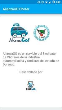 AlianzaGO Chofer apk screenshot
