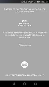 OPL Apoyo Ciudadano poster
