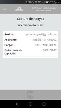 OPL Apoyo Ciudadano screenshot 2