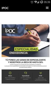 IPOC Móvil poster