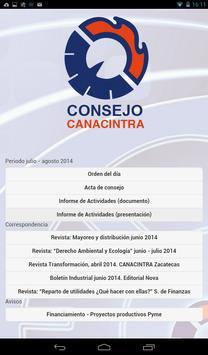 Consejo Canacintra apk screenshot