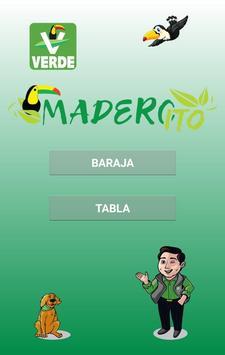 Lotería Maderito poster