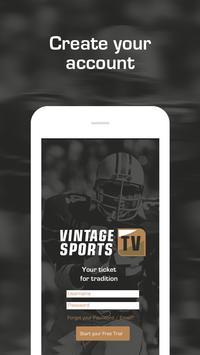 Vintage Sports TV poster